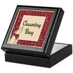 Country Boy Keepsake Box