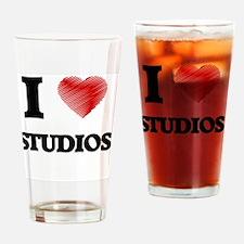 I love Studios Drinking Glass