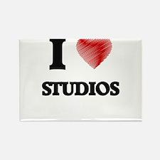 I love Studios Magnets