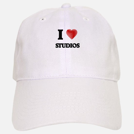 I love Studios Baseball Baseball Cap