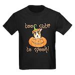 Halloween Corgi Kids Dark T-Shirt