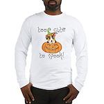 Halloween Corgi Long Sleeve T-Shirt