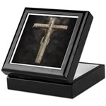 Crucified (Back View) Keepsake Box