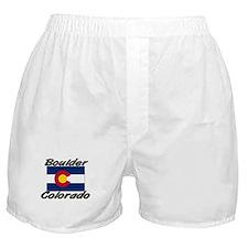 Boulder Colorado Boxer Shorts