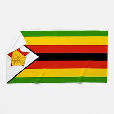 Flag of Zimbabwe Beach Towel