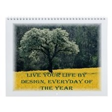 Life By Design Inspirational Wall Calendar