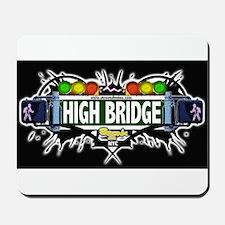 high bridge (Black) Mousepad