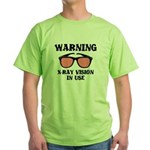 X-Ray Vision In Use Green T-Shirt