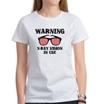 X-Ray Vision In Use Women's T-Shirt