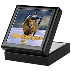 The Lion of Judah Keepsake Box