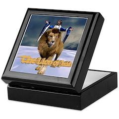 The Lion of Judah Keepsake Box