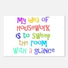 My Idea of Housework Postcards (Package of 8)