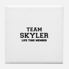 Team SKYLER, life time member Tile Coaster