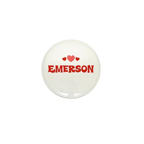 Emerson Mini Button