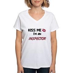 Kiss Me I'm a INSPECTOR Shirt