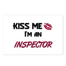 Kiss Me I'm a INSPECTOR Postcards (Package of 8)