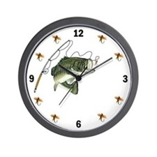 Largemouth Bass Wall Clock