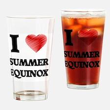 I love Summer Equinox Drinking Glass