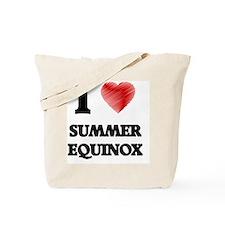 I love Summer Equinox Tote Bag