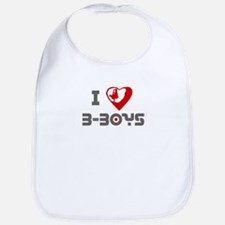 Luv B-Boys Bib