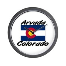 Arvada Colorado Wall Clock