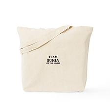 Team SONIA, life time member Tote Bag