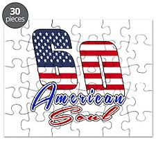 60 American Soul Birthday Designs Puzzle