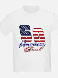60 American Soul Birthday Desig T-Shirt