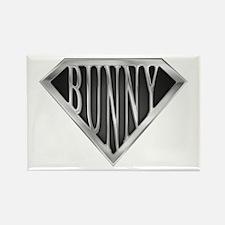 SuperBunny(metal) Rectangle Magnet