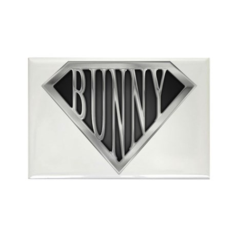 SuperBunny(metal) Rectangle Magnet (100 pack)