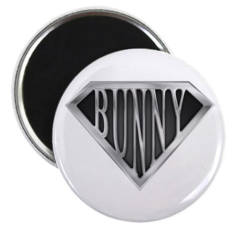 """SuperBunny(metal) 2.25"""" Magnet (10 pack)"""