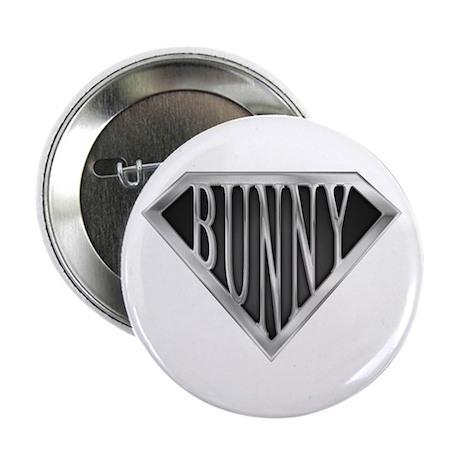 "SuperBunny(metal) 2.25"" Button (100 pack)"