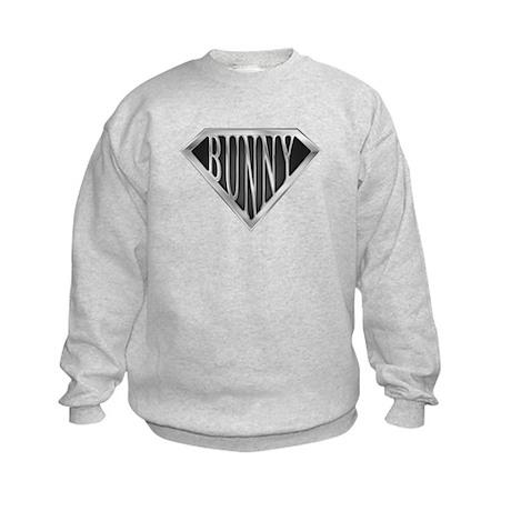 SuperBunny(metal) Kids Sweatshirt
