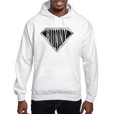 SuperBunny(metal) Hoodie