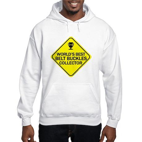 Collector Belt Buckles Hooded Sweatshirt