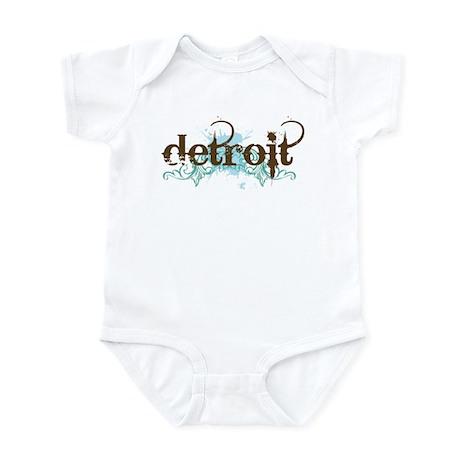 Detroit Michigan Infant Bodysuit