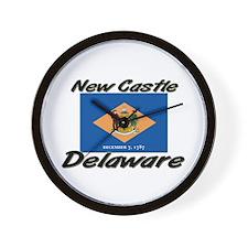 New Castle Delaware Wall Clock