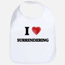 I love Surrendering Bib