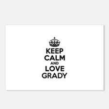 Keep Calm and Love GRADY Postcards (Package of 8)