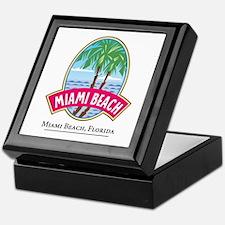 Classic Miami Beach -  Keepsake Box
