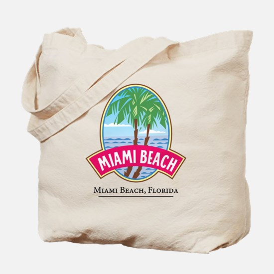 Classic Miami Beach - Tote or Beach Bag