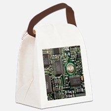 Cute Computer science Canvas Lunch Bag
