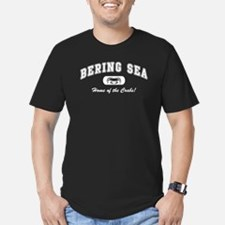 Bering Sea Home of the Crabs! White T-Shirt