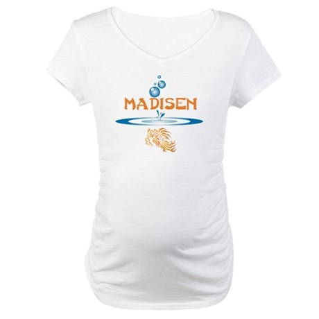 Madisen (fish) Maternity T-Shirt