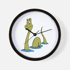 Loch Ness Monster Wall Clock