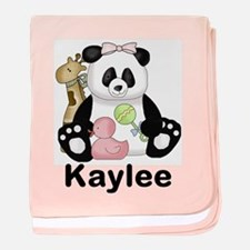 Kaylee's Little Panda baby blanket