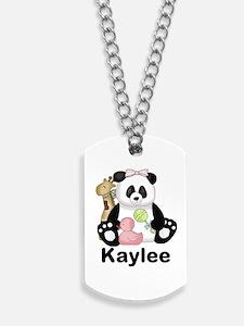 Kaylee's Little Panda Dog Tags
