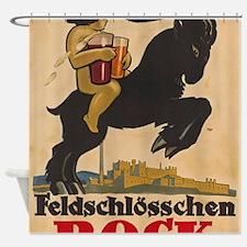 Unique German beer Shower Curtain