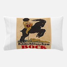 Vintage poster - Feldschlosschen Bock Pillow Case