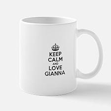 Keep Calm and Love GIANNA Mugs